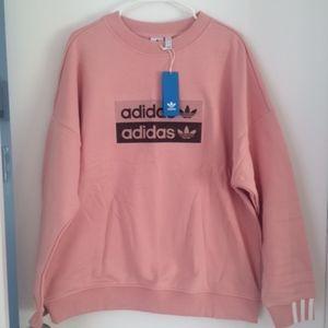 Adidas original pink sweatshirt - NEW